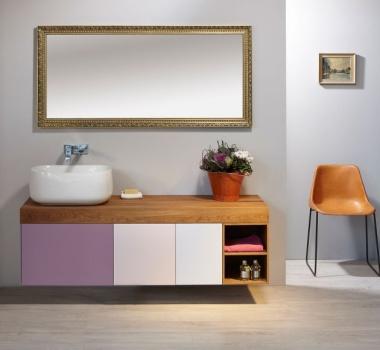 Kochejte se krásnou povrchovou úpravou dubového masivu v koupelně NEXT od Le Bon.