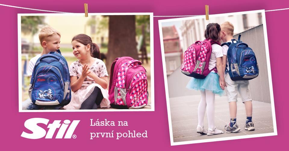 Školní batohy STIL mají styl  eb2fae21f5