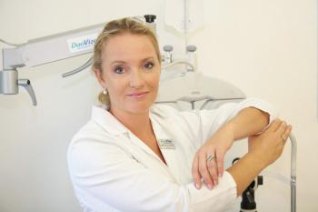 Primářka MUDr. Lucie Valešová oční kliniky DuoVize