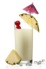 ananasový koktejl