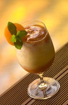 Papája-zázvorové-smoothie