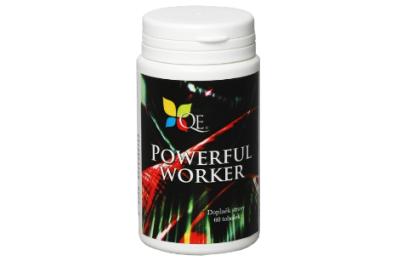 Powerful Worker obsahuje colostrum (obsahuje množství imunoglobulinů, vitaminů, minerálů a stopových prvků).