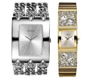 stříbrné hodinky - cena: 3 150 Kč, zlaté s kamínky - cena: 4 190 Kč