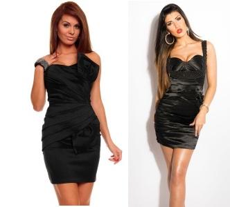 černé koktejlové šaty jsou klasikou, která nezklame
