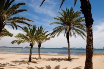 Mar Menor nabízí ideální podmínky pro teplou mořskou lázeň.