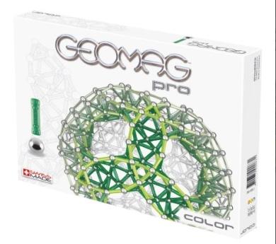 Geomag Pro Color 66ks, cena: 639 Kč (www.skluzavky.cz)