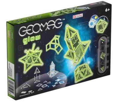 Geomag KIDS Glowing 76ks, cena: 679 Kč (www.skluzavky.cz)