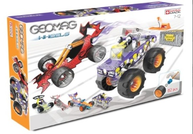 Geomag WHEELS Race Large, cena: 719 Kč (www.skluzavky.cz)