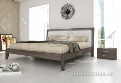 postel z masivu BERGAMO, buk