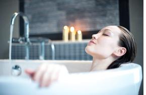 relaxace ve vaně